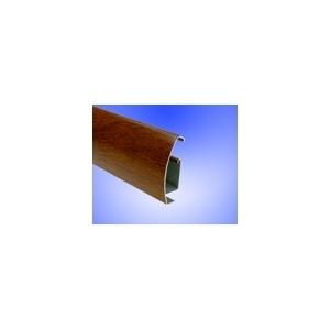horní profil PRIM   imitace dřeva